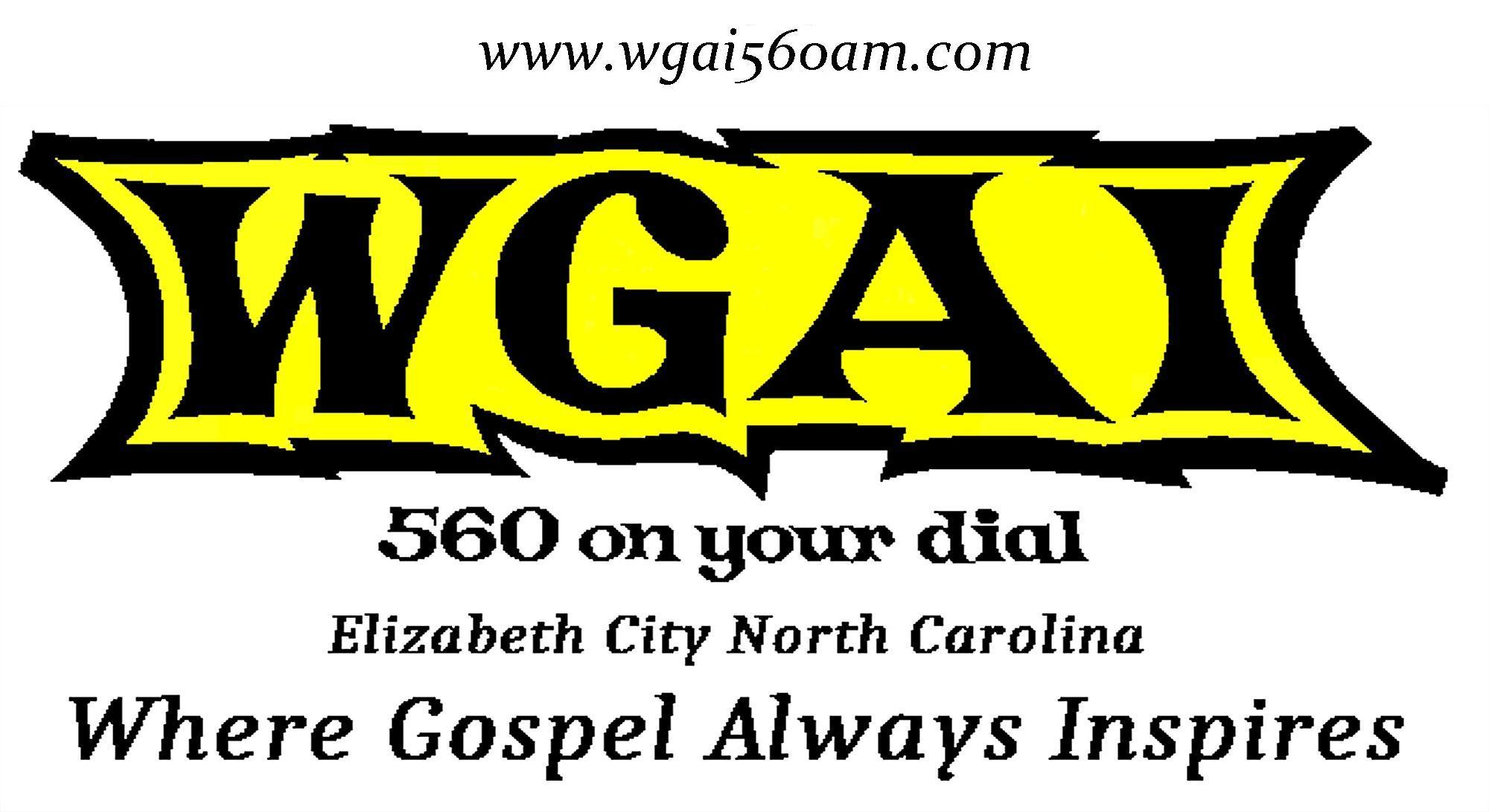 560 AM WGAI, Where Gospel Always Inspires